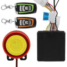 Motorcycle-Speaker Anti-Theft 12V Remote-Control-Key-Shell Scooter Security-Alarm-System