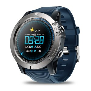 Zeblaze VIBE 3 pro Smart Touch Screen Wireless Health Test Watch Waterproof 24-Hour Health Monitoring Real-Time Pedometer