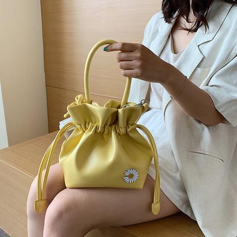Bolsa para as Mulheres Couro do Plutônio Bolsas de Ombro Bolsas de Noite Moda Drawstring Nova Alta Qualidade Senhoras Designer Bolsas Femininas 2020