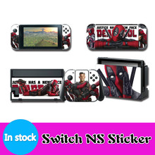 Vinyl Screen Skin Sticker Marvel Spiderman Skins Protector Stickers for Nintendo Switch NS Console + Controller + Stand Sticker vinyl screen skin sticker laurel dog skins protector stickers for nintendo switch ns console controller stand sticker