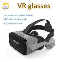 Vr shinecon g07evr очки 3 dс наушниками для 47 60 дюймовых смартфонов