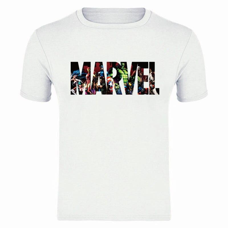 New Mens T Shirt Round Neck 2019 Summer Fashion Tees Couple T-shirts Male Tops Cotton Print Boys Tshirt Black High Quality