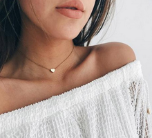 Summer Fashion Women Lady Simple Love Shape Heart Pendant Choker Chain Necklace Bib Beach Summer Necklace Jewelry(China)