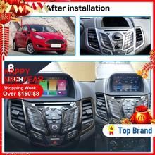 Android 8.0 Car multimedia Player GPS Navigation head unit for Ford Fiesta 2013-2016 Autoradio car dvd player 4+32 Radio Vedio