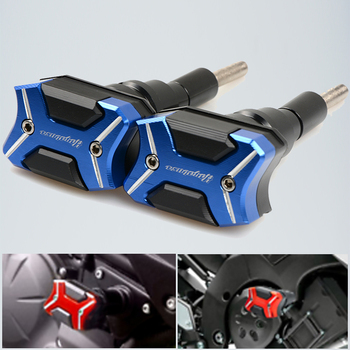 Protection Motorcycle Frame Sliders Crash Pad Cover Falling Protector Guard For Suzuki Hayabusa 2008-2016 2009 2010 2011 2012 frame sliders crash protector for suzuki gsr 400 600 gsr400 gsr600 2006 2010 motorcycle accessories bobbins falling protection