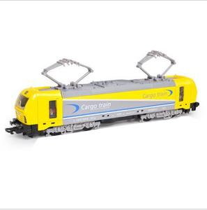 Image 2 - 1:32 alloy single section tram model,pull back train model,simulation of colorful lights,can open childrens toys