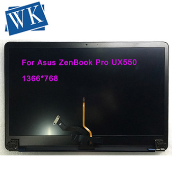 15.6 Full Assembly For Asus ZenBook Pro UX550 UX550V Laptop LED LCD Screen Digitizer Glass Replacement