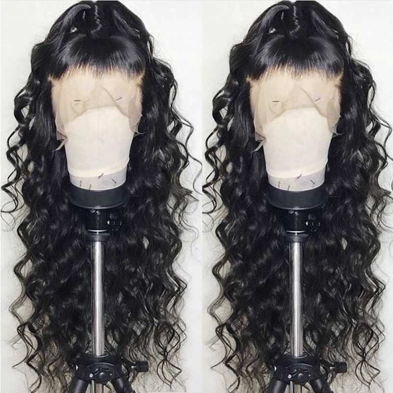 Soft 13x6 Lace Front Human Hair Wigs Pre Plucked 360 Lace Frontal Wig With Baby Hair Lace Wig Brazilian Body Wave Lace Front Wig