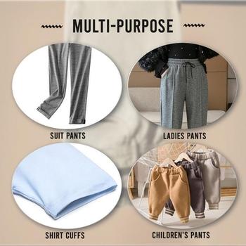 Spodnie krawędź skróć żelazko na dole odzież rolka taśmy samoprzylepne spodnie garnitur usta wklej poliester akcesoria do szycia tanie i dobre opinie CN (pochodzenie) Plaid Dla osób dorosłych moda Szelki 1inch