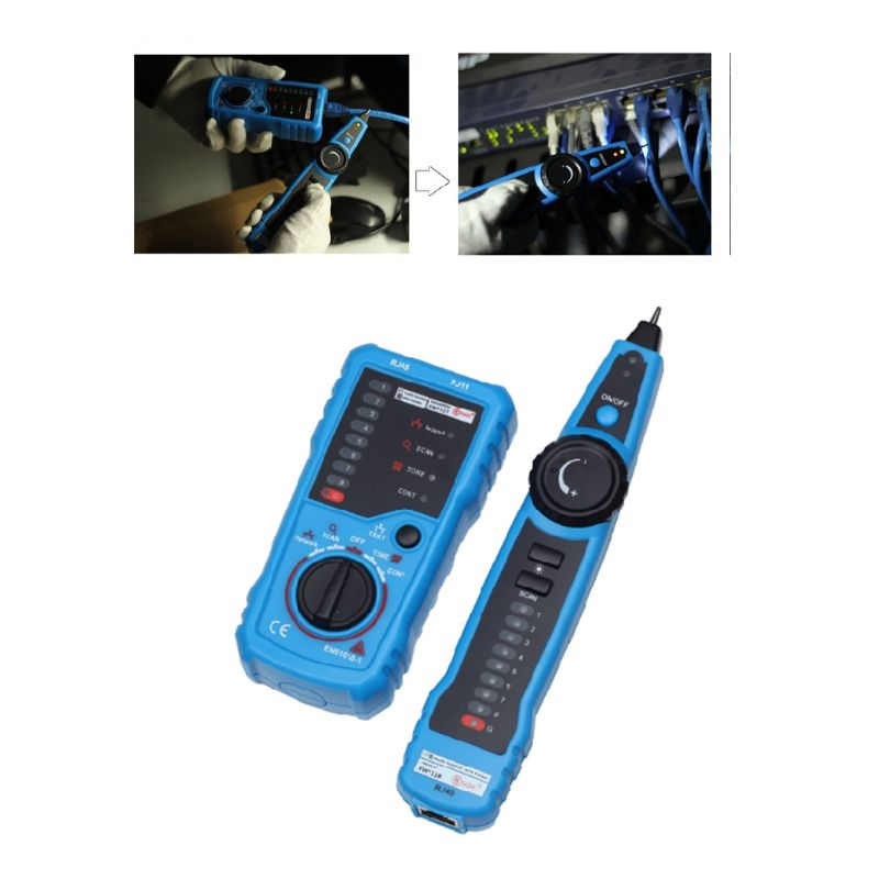 Wire Tracker Ethernet LAN Network Cable Detector for Collation Continuity Checking 2