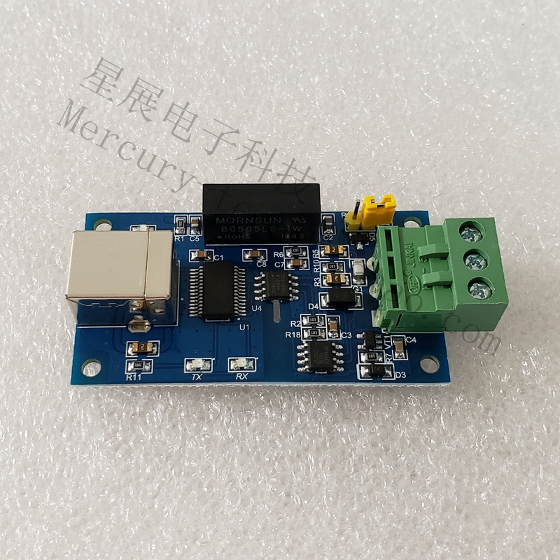 FT232 Isolated USB To RS485 Serial Port Magnetic Isolation USB To 485 Serial Port RS-485 Isolation FT232RL