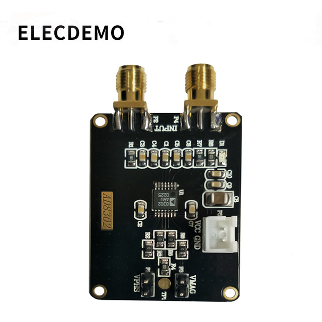 AD8302 amplitude phase detection module wideband logarithmic amplifier phase detector module 2.7G radio frequency IF