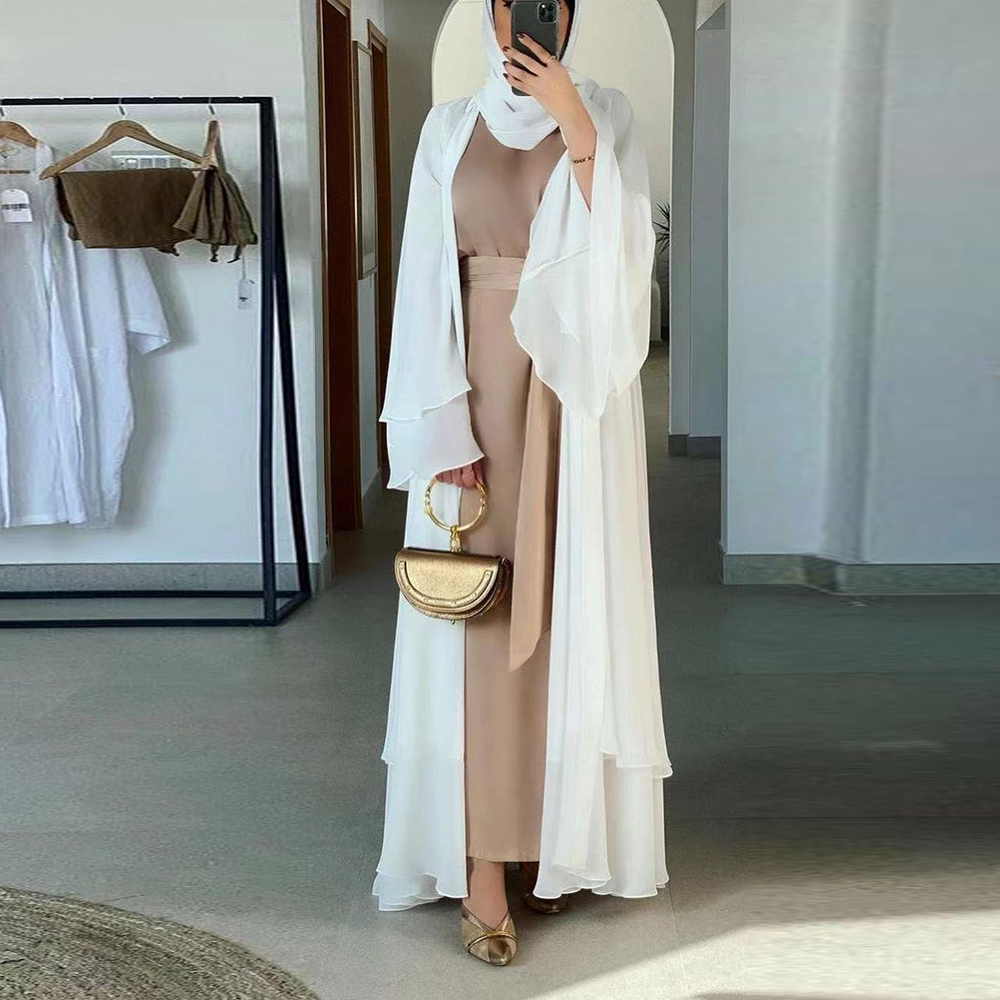 White with hijab