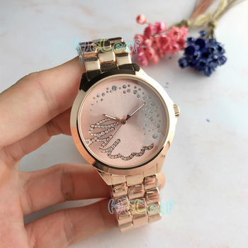 Luxury Fashion Women Watches Silver Gold Round Stainless Steel Band jewel Quartz Watch Female girls Clock Montre Femme reloj fashion women watches rose gold silver stainless steel band analog quartz watch rhinestone bracelet wristwatch female clock