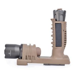 Image 4 - องค์ประกอบ Surefir ไฟฉายยุทธวิธีปืนไรเฟิล Airsoft Light Softail Scout Light M910A แนวตั้ง FOREGRIP อาวุธปืน lanterna