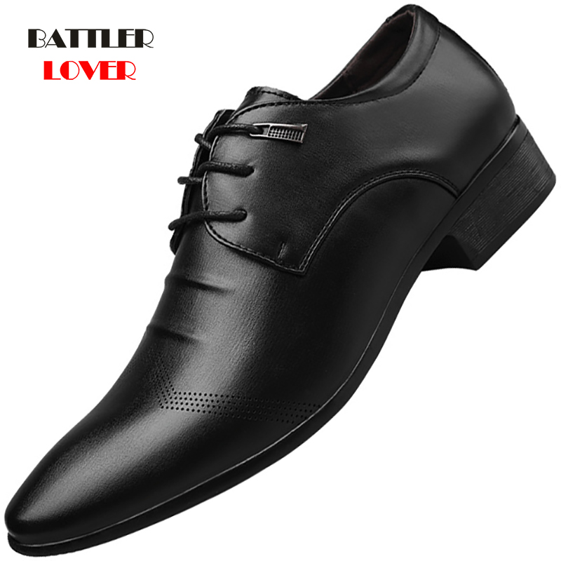 New Formal Oxford Shoes For Mens Dress Shoes Man Wedding Dress Office Shoes Men Zapatillas Hombre Deportiva Mocassin Homme Derbi