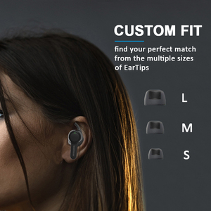 Image 5 - Lewinner TS04 TWS True Wireless Earphones with 2 Microphones, CVC 8.0 Noise Reduction, 40H Playtime, IPX7 Waterproof headset