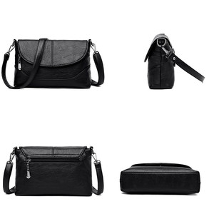 Image 5 - Luxury Handbags Leather Crossbody Bags For Women Shoulder Messenger Bags Designer Purses and Handbags Sac A Main High Quality
