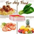 Креативный здоровый поднос для сохранения пищи набор контейнеров для хранения многоразовая печать пищи для сохранения свежести лоток для ...