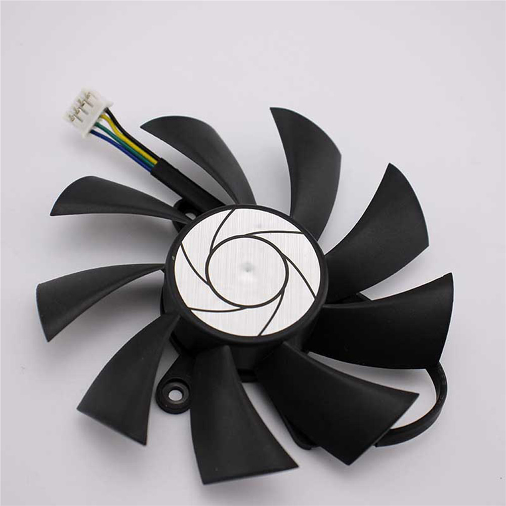 DC 12V HA9015H12F-Z Cooling Single Fan 4-Pin for MSI R7 360 <font><b>2GD5</b></font> OC For MSI <font><b>GeForce</b></font> <font><b>GTX</b></font> <font><b>950</b></font> <font><b>2GD5</b></font> OC /<font><b>GTX</b></font> 1060 Graphics Card image
