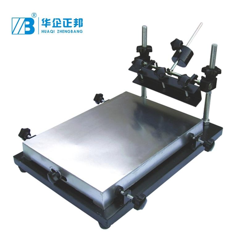 Manual PCB Silk Screen Printing Machine/PCB High Precision 320*440 Stencil Printer