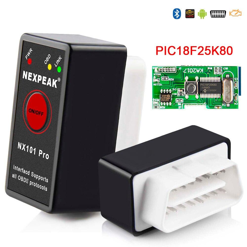 Universal OBD2 ELM327 V 1.5 Auto Scanner OBDII Scan Tool OBD ODB II ELM 327 V1.5 2 ODB2 Do Bluetooth de Diagnóstico ferramenta de scanner Auto