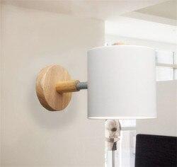 Skandynawski retro lampka nocna LED kinkiet Art mosiądz Foyer tło sypialnia nawa restauracyjna kinkiet oświetlenie ścienne darmowa wysyłka