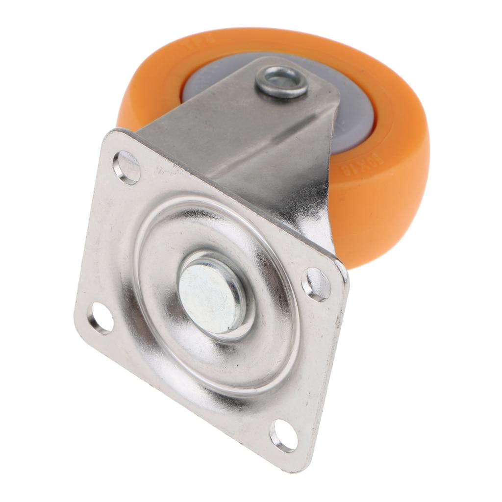 8 Pieces 360° Swivel Caster Wheels 2