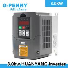 220V 3.0kw VFD Biến Tần Số Ổ Inverter / VFD 1HP Hay 3HP Đầu Vào 3HP Đầu Ra CNC Điều Khiển CNC Con Quay điều Khiển Tốc Độ Động Cơ