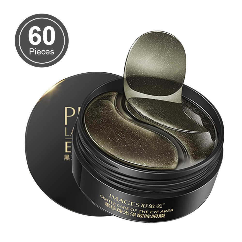 60Pcs Pearl Collagen Masker Mata Patch Pelembab Alami Gel Mata Patch Menghapus Gelap Lingkaran Anti Age Tas Mata Kerut perawatan Kulit