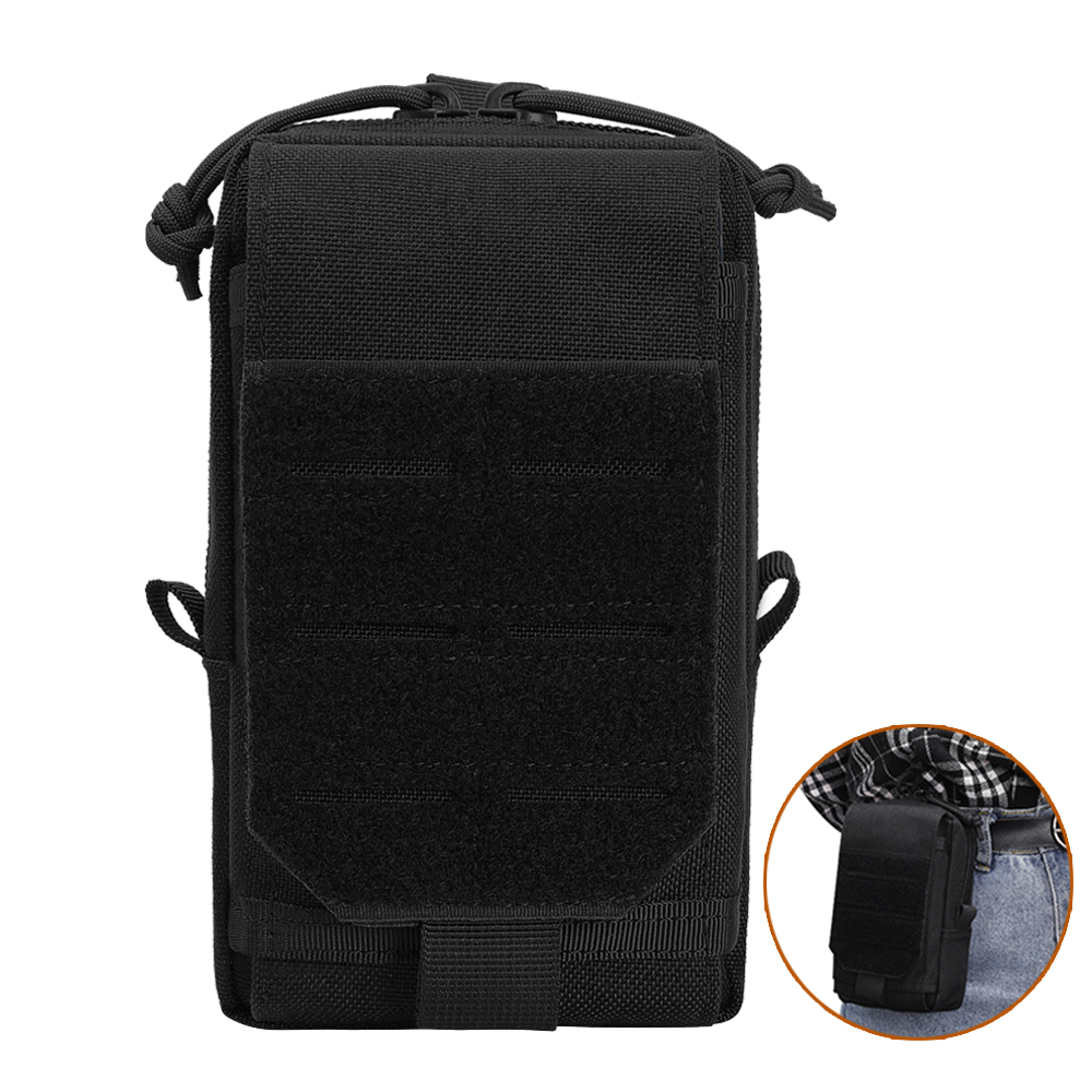 1000D Tactical Molle Pouch Bag Utility EDC Pouch For Vest Backpack Belt Hunting Waist Pack Outdoor Airsoft Accessory Bag