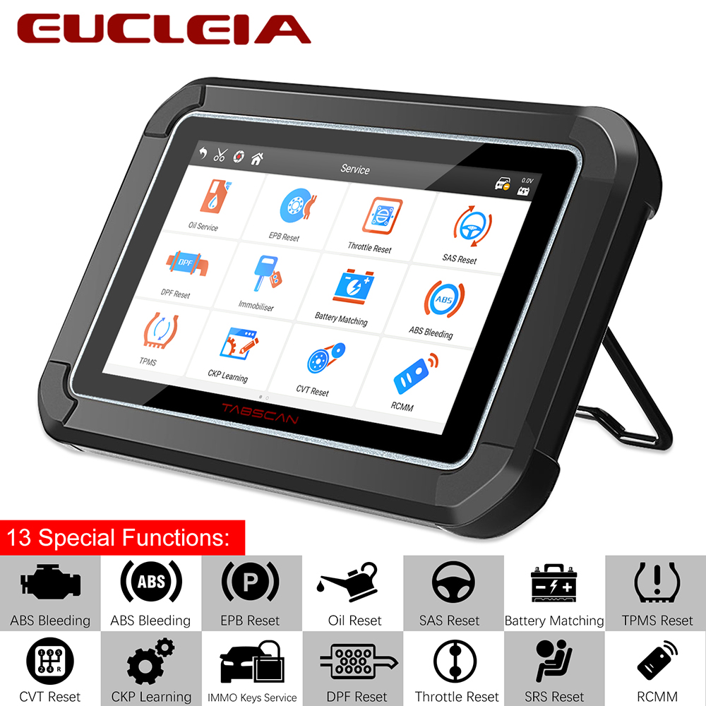 Automotive Scan Tool >> Us 425 71 Eucleia S7c Obd2 Automotive Scanner Full System Obd2 Car Diagnostic Tool Abs Sas Epb Dpf Oil Service Reset Obd Auto Scanner Odb In Code