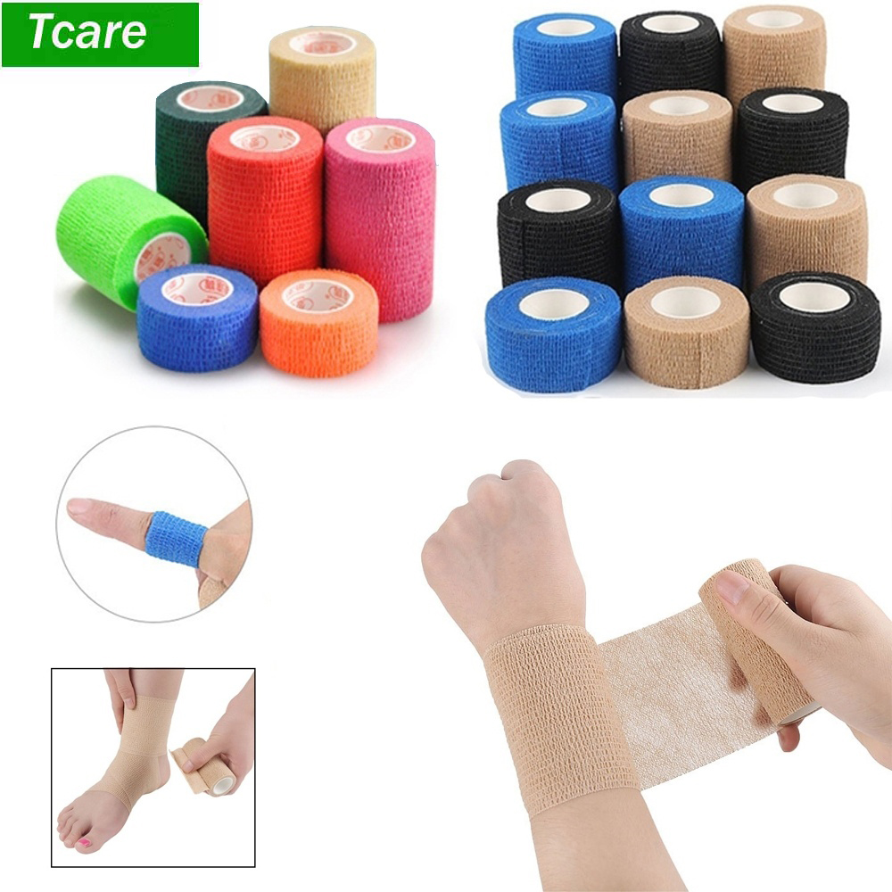 Sport Self Adhesive Elastic Bandage Wrap Tape 4 5m Elastoplast For