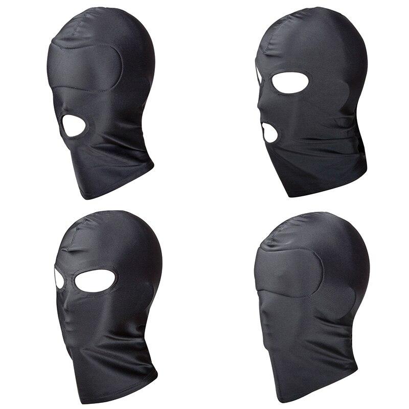 Bdsm Bondage Mask Hood Sm Toys Erotic Fetish Head Restraints Harness Mask Guy Sex Toys For Couples