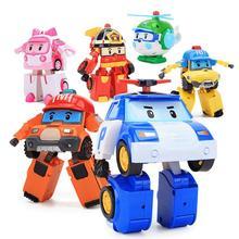 6 stylów Robocar zabawka dla dzieci Poli Robot transformacyjny Super Wings Poli Amber Roy samochód figurka zdeformowane zabawki dla dzieci tanie tanio RTBXF Model CN (pochodzenie) Unisex 10 cm 8 cm 15 5cm none 2-4 lat 5-7 lat 8-11 lat 12-15 lat Dorośli 14 lat 8 lat