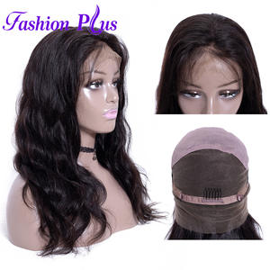 Full Lace Human Hair Wigs For Women Lengths Available Body Wavy Brazilian Remy Hair Bleached Knots 150% Density