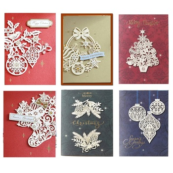 Рождественские украшения «сделай сам», металлические штампы для резки, штамп, скрапбукинг, бумажный нож, форма, лезвие, перфоратор, трафареты