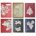 Рождественские украшения «сделай сам», металлические штампы для резки, штамп, скрапбукинг, бумажный нож, форма, лезвие, перфоратор, трафарет...