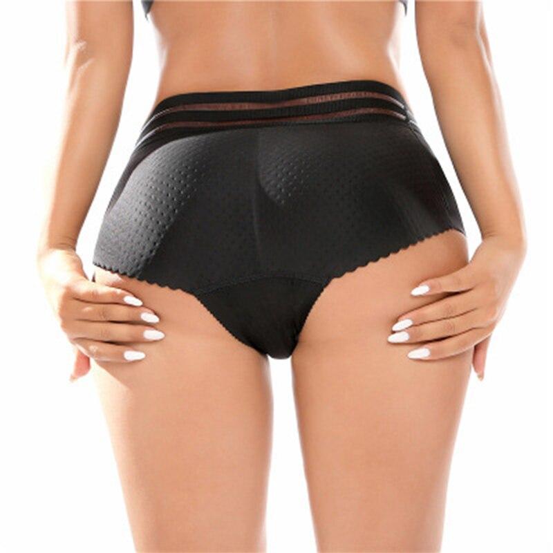 Women/'s imbottito Butt Lifter Panty Body Shaper Push Up BOOSTER biancheria intima di Shapewear
