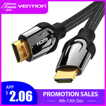 Vention Kabel HDMI Kabel HDMI Ke HDMI 4K HDMI 2.0 3D 60FPS Kabel Splitter Switch TV LCD Laptop PS3 Proyektor Kabel Komputer(China)