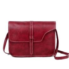 Women's Shoulder Bag Messenger Bag Solid Color and Simple Vintage Square Sling Bag Drawstring Bag