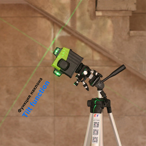 Image 5 - Kaitian Lazer Level Receiver Green 3D Self Leveling Cross 12Lines Vertical Horizontal 360 Rotary Lasers Line Level Battery Tools