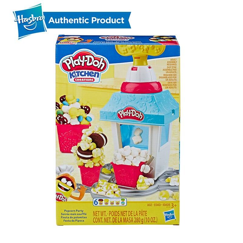 Juego de palomitas de maíz de la serie de la cocina creativa del Peleto de la fiesta de las palomitas del Doh de Hasbro Set Play-Doh - 3
