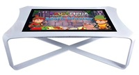 4K multitouch 12 points interactive smart table All In One PC Multi Touch Bar club game Table screen