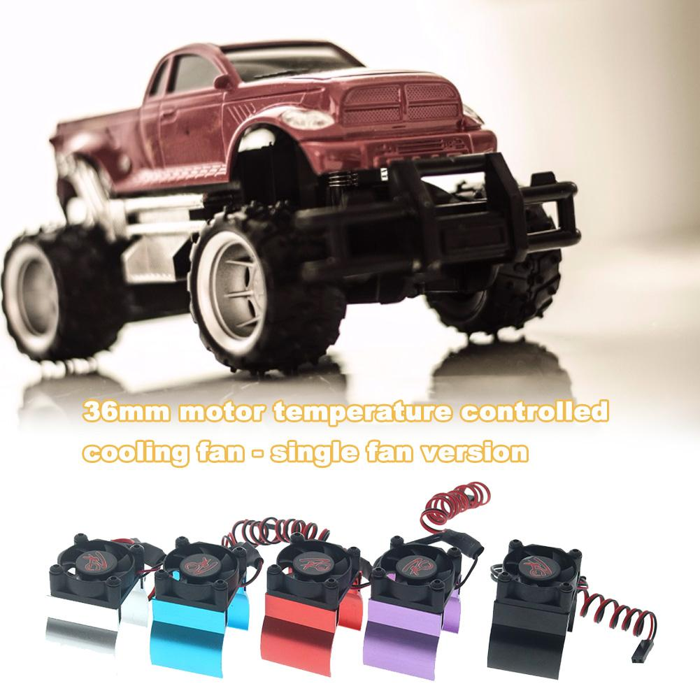 Newest RC Car <font><b>Motor</b></font> Heatsink 550 <font><b>540</b></font> <font><b>Motor</b></font> Cooling <font><b>Fan</b></font> With Heatsink For Traxxas Hsp Redcat Tamiya Axial SCX10 D90 HPI Car image