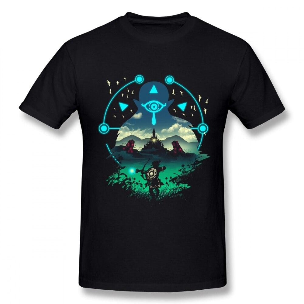 Col rond pas cher la légende de Zelda T-shirt lien T-shirt pour Homme manches courtes grande taille Homme T-shirt