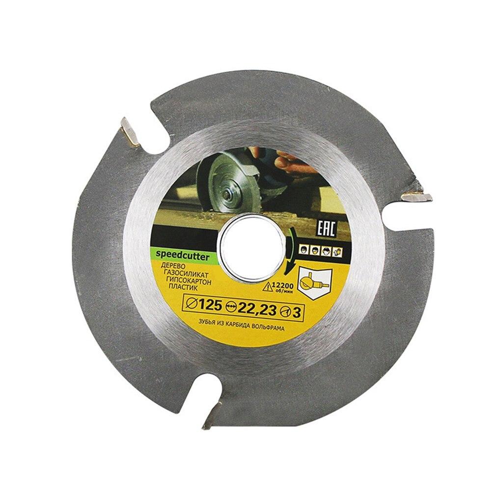 125mm 3T Multitool meuleuse scie disque circulaire lame de scie carbure pointe bois disque de coupe sculpture disque outil Multitool lames