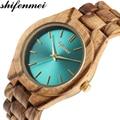 Shifenmei женские часы 2019 деревянные часы женские роскошные Брендовые спортивные наручные часы кварцевые часы деревянные часы женские часы ...