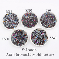 Volcanic Big pack Shinny AAA Shiny crystal SS6 SS30 High quality Hotfix Rhinestone Crystal and stone For Clothes