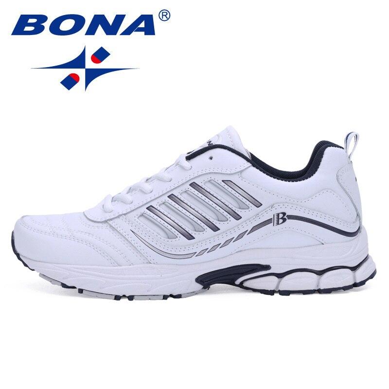BONA Mann Turnschuhe für Männer Laufschuhe Outdoor Wanderschuhe Bequeme Schuhe Trianers Trends Sporttrainer Heißer Verkauf